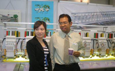 Hooray Venture จัดแสดงจักรปักคุณภาพแบรนด์สิงคโปร์ ใน งาน Thailand Industrial Fair 2011
